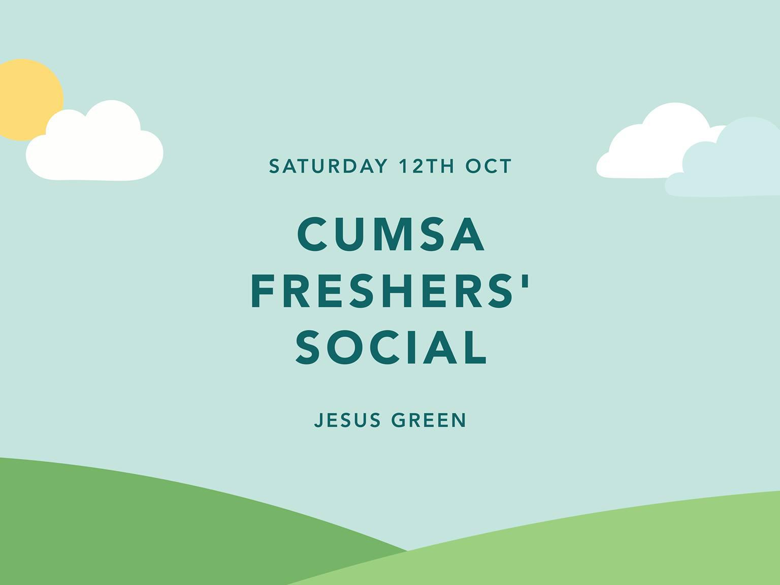 Freshers' Social